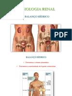 FISIOLOGIA RENAL - BALANÇO HÍDRICO