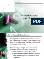 Derivatives and Islamic Finance