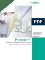 Prontoderm for Mdrodecolonisationofskin20060417