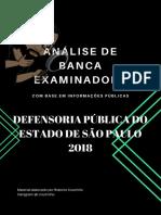 Análise Da Banca Examinadora - DPESP