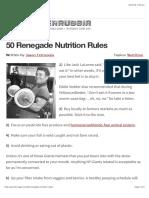 Jason Ferruggia's Renegade Fitness