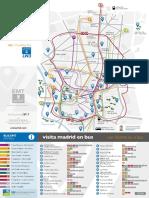Plano Autobuses de Madrid