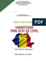 Proiect 1 decembrie.doc