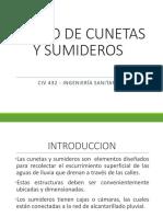 Diseño de Cunetas y Sumideros (Final)