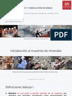 DIMENSIONAMIENTO Y CUBICACIÓN DE MINAS II