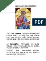 Cristologia de s. Mateus