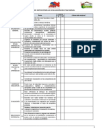 Lista de cotejo Plan Anual