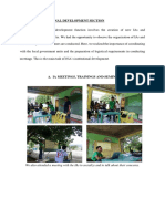 11. INSTITUTIONAL DEVELOPMENT SECTION