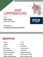 Laringologi