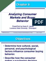 Kotler 6-Analyzing Consumer Markets and Buyer Behavior