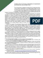 Carlos Escudé. La Guerra Justa y El Fin de La Historieta - Un Manifiesto Neomoderno. 2005. Recensión x E. Cerezo. Rev. Cálamo. 27-IV-2015