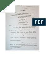 RGTU  Ex v Sem Question Papers by AMIT KUMAR