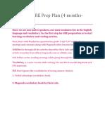 Advanced GRE Prep Plan (4 months-330+)-Prep Master.