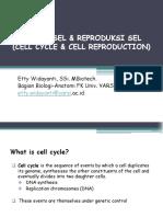 Presentasi Siklus Sel & Reproduksi Sel