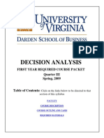 Decision Analysis UVA