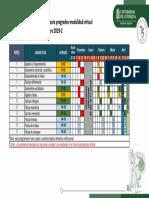 Programación de Evaluaciones 2019-2