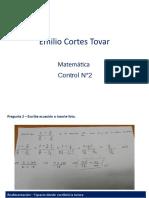 Control n°2 - Emilio Cortes Tovar