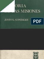 Gonzalez Historia de Las Misiones