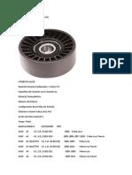 Catálogo de Partes  POLEAS