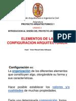Elementos de La Configuracion Arq PROYECTO 1