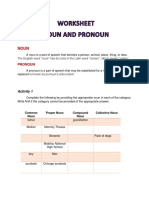 2. Worksheet Noun and Pronoun HannahArguelles