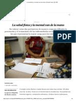 La Salud Física y La Mental Van de La Mano _ Planeta Futuro _ EL PAÍS