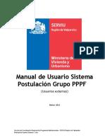Manual Postulación Grupal de PPF
