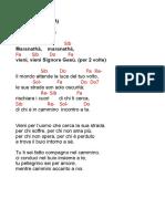 01 Maranathà - Non temere  (frisina).doc