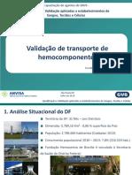Validação de Transporte de Hemocomponentes