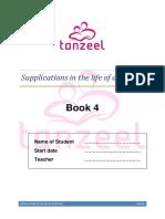 tanzeel dua book 4