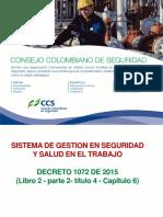 Decreto 1072 de 2015 Ccs Diapositivas