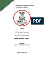 Proyecto Restaurante - Final