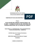 Evaluacion del riesgo toxicológico de plomo y cadmio.pdf