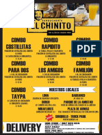 El Chinito Carta