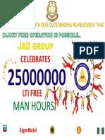 25M Celebration