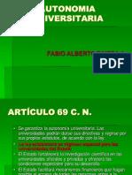 RIVERA, Fabio Alberto. (ASPU)Autonom.universitaria U. D.
