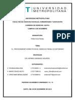 El Procedimiento Directo en el Derecho Penal Ecuatoriano.