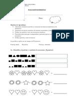 prueba MATEMÁTICA evaluación docente