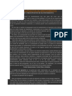 COSTOS Y PRESUPUESTOS DE MANTENIMIENTO