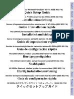 Manual Servidor Impresora NC-2200w