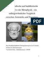Hausarbeit_Abendländische und buddhistische Perspektive der Metaphysik.docx