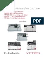 J32799_EN, Laboratory information System(LIS) Guide Vitros