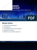 Acronis Certified Engineer Backup 12.5 Training Presentation Module 2 (EN)