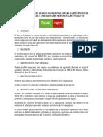 Plan de Mitigación de Riesgos Ocupacionales Para La Prevención de Accidentes Laborales y Enfermedades Profesionales en Emac Ep