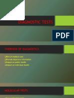 DIAGNOSTIC TESTS PRESENTATION