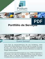 Portfolio Podium Engenharia e Consultoria - Detalhado 2018 - Modelo