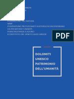 Dossier Dolomiti Unesco