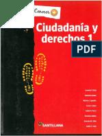 Ciudadania y Derechos 1 Santillana Conocer