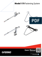 Ferno 175 Fastener System User Manual