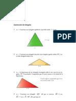 Matematicas Resueltos (Soluciones) Triángulos 1º ESO